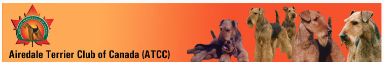 Return to the Airedale Terrier Club of Canada (ATCC) home page.